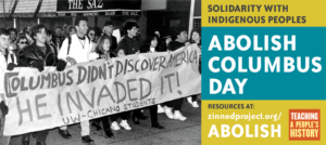 Abolish Columbus Day!